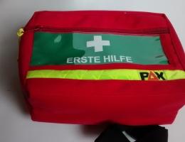 Erste Hilfe Taschen leer